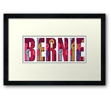 Revolution Fists for Bernie Framed Print