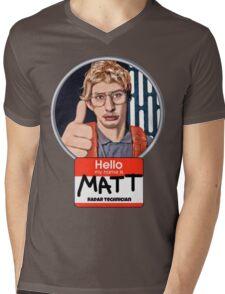 Hello my name is Matt Mens V-Neck T-Shirt