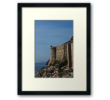 Explore Dubrovnik Framed Print