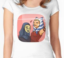 Space Kids  Women's Fitted Scoop T-Shirt