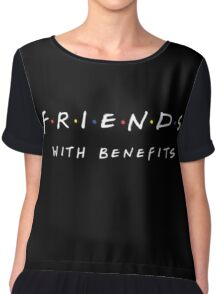 FRIENDS WITH BENEFITS Chiffon Top