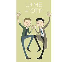 U+ME=OTP DESTIEL Photographic Print