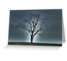 Mystery Tree Greeting Card