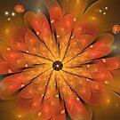 Cosmic flower by walstraasart