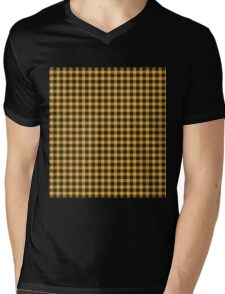 Oppa Gingham Style Mens V-Neck T-Shirt