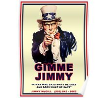 GIMME JIMMY Poster