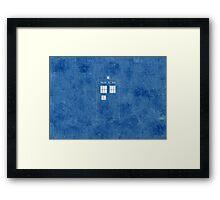 The Blue Box Framed Print