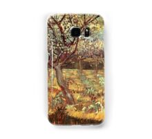 'Apricot Trees In Blossom' by Vincent Van Gogh (Reproduction) Samsung Galaxy Case/Skin