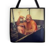 "Phatima Rude- ""monster in the sink"" Tote Bag"