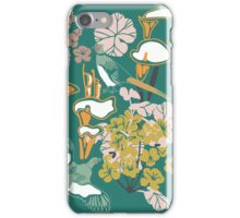 Pheasants and Flora iPhone Case/Skin