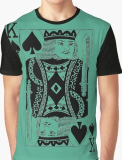 KING OF SPADES-BLACK Graphic T-Shirt