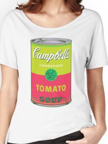 Campbell's Soup Andy Warhol Women's Relaxed Fit T-Shirt