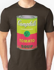 Campbell's Soup Andy Warhol Unisex T-Shirt