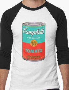 Campbell's Soup Andy Warhol Men's Baseball ¾ T-Shirt