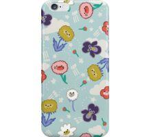 Kawaii Spring Flowers iPhone Case/Skin
