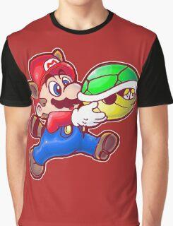 Raccoon Mario Graphic T-Shirt
