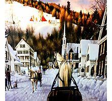 Winter In Summerville Photographic Print