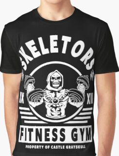 Skeletors Fitness Gym Graphic T-Shirt