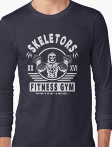 Skeletors Fitness Gym Long Sleeve T-Shirt