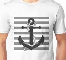 Ahoy! (greyscale) Unisex T-Shirt