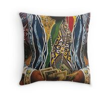 BIGGIE SWEATER Throw Pillow