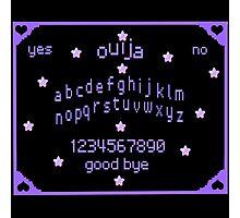 Ouija pastel goth pixels Photographic Print