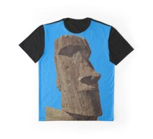 Easter Island Monolith Graphic T-Shirt