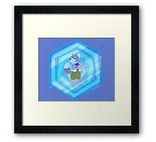 Fox Shines On Framed Print