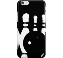 bowling study iPhone Case/Skin