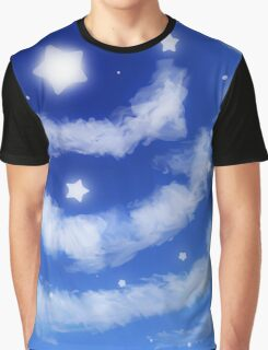 Star Clouds Graphic T-Shirt