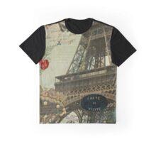 La Vie Eiffel Graphic T-Shirt