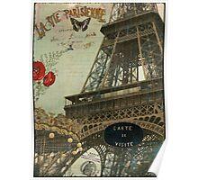 La Vie Eiffel Poster