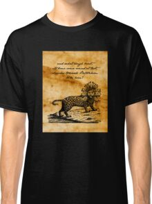 Second Coming - William Butler Yeats - Parchment Classic T-Shirt