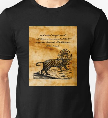 Second Coming - William Butler Yeats - Parchment Unisex T-Shirt