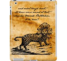 Second Coming - William Butler Yeats - Parchment iPad Case/Skin
