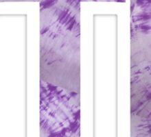 Purple Tie Dye FTK Sticker