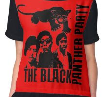 BLACK PANTHER PARTY Women's Chiffon Top