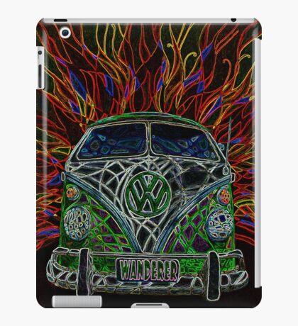 neon wanderer iPad Case/Skin