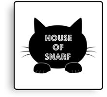 House of Snarf Canvas Print