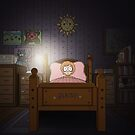 Maisy's Bedroom (The Monsters Video Art) by Stack