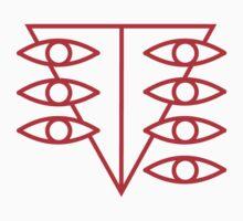 Seele Red Logo Kids Tee