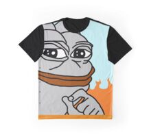 VERY RARE PEPE ROBOT Graphic T-Shirt