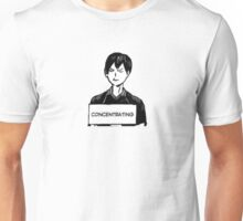 CONCENTRATING Unisex T-Shirt