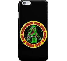 Bad Mofo from Outer Space Colour 2 iPhone Case/Skin
