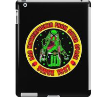 Bad Mofo from Outer Space Colour 2 iPad Case/Skin