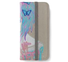 i cant sleep iPhone Wallet/Case/Skin