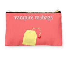 Vampire Teabags (Black2) Studio Pouch