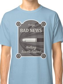 Percy's Bad News - Nothing Travels Faster! Classic T-Shirt