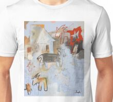 Goats and Homes Unisex T-Shirt