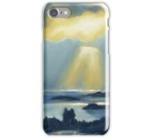 Ray's shine down on Scalloway iPhone Case/Skin